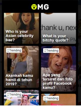 Cara Bermain Aplikasi OMG Facebook