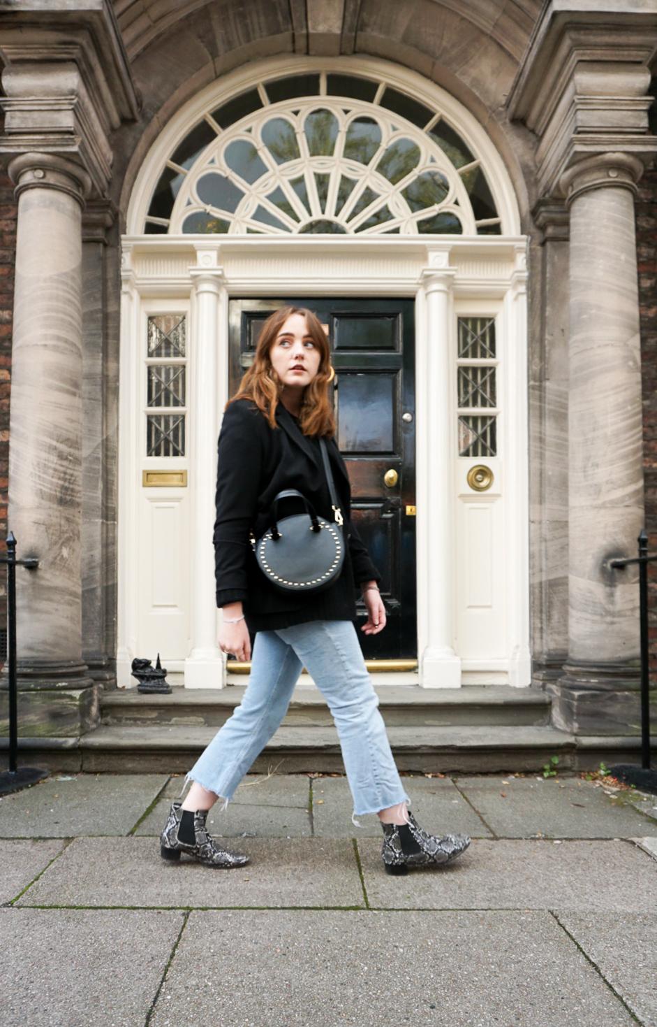 autumn 2018 street style of uk fashion blogger