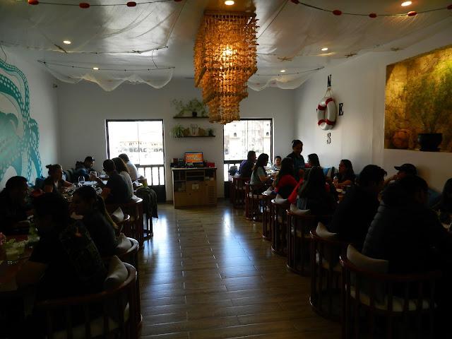 Restaurante Barrio Ceviche, Cusco, Peru