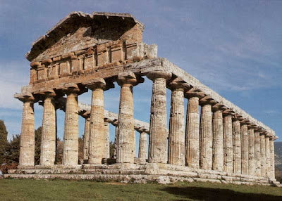 Templo de Atenea en Paestum