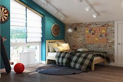 Children Room Design Ideas : Interior Children's loft-style