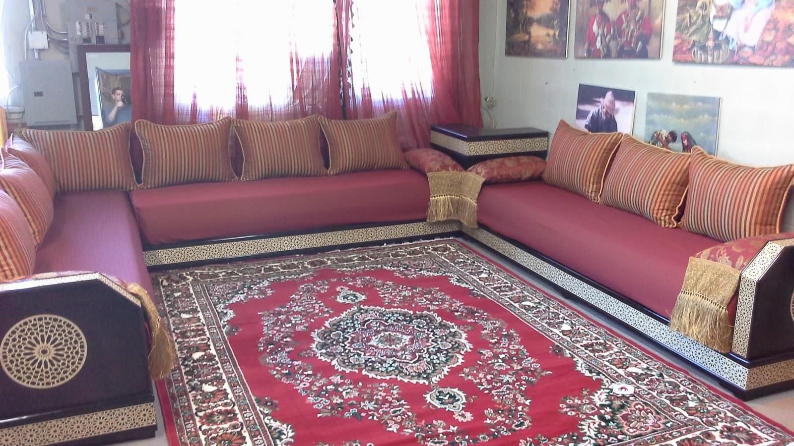 Les Salon Marocain | Salon Marocain Appartement Temoin Bassatine ...