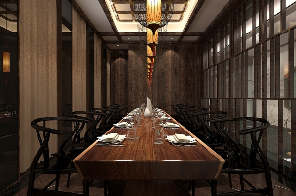 Chinese classical restaurant 3D model free 3d max models