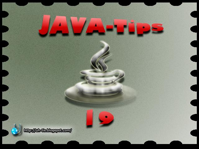 Imagen del capítulo número 19 de JAVA-Tips