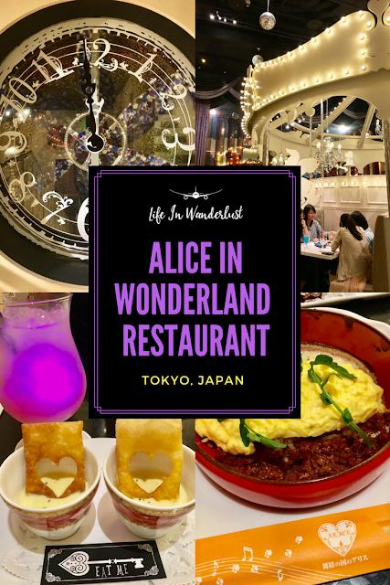 Alice in Wonderland Restaurant Tokyo Japan