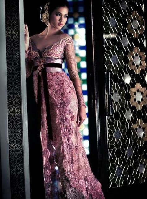 Fashionloly Glamour With Original Modern Kebaya Indonesia