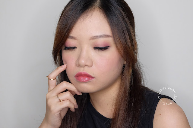 Review : Mineral Botanica Lip Cheek Eye Wundercream & Lip Glaze by Jessica Alicia