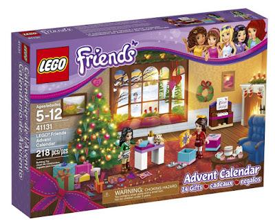 JUGUETES - LEGO Friends 41131 Calendario de Adviento | Navidad 2016 Piezas: 218 | Edad: 5-12 años Comprar en Amazon España