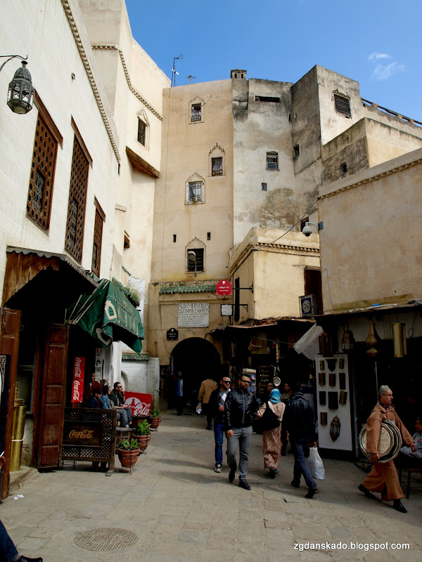 Fes - Place Sefferine