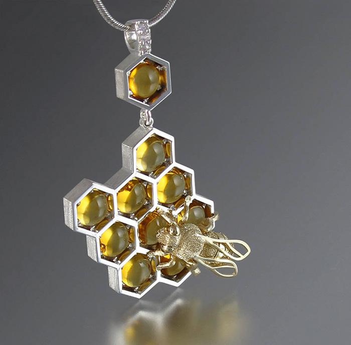 Adorable joyería de nido de abeja por Winged Lion