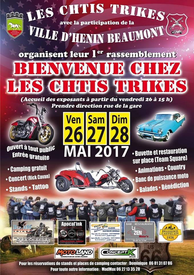 Motorbike event france bienvenue chez leschtis trikes for Cuisine plus henin beaumont