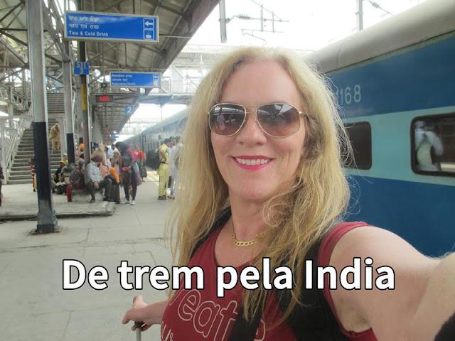 Vídeo: de trem pela Índia!