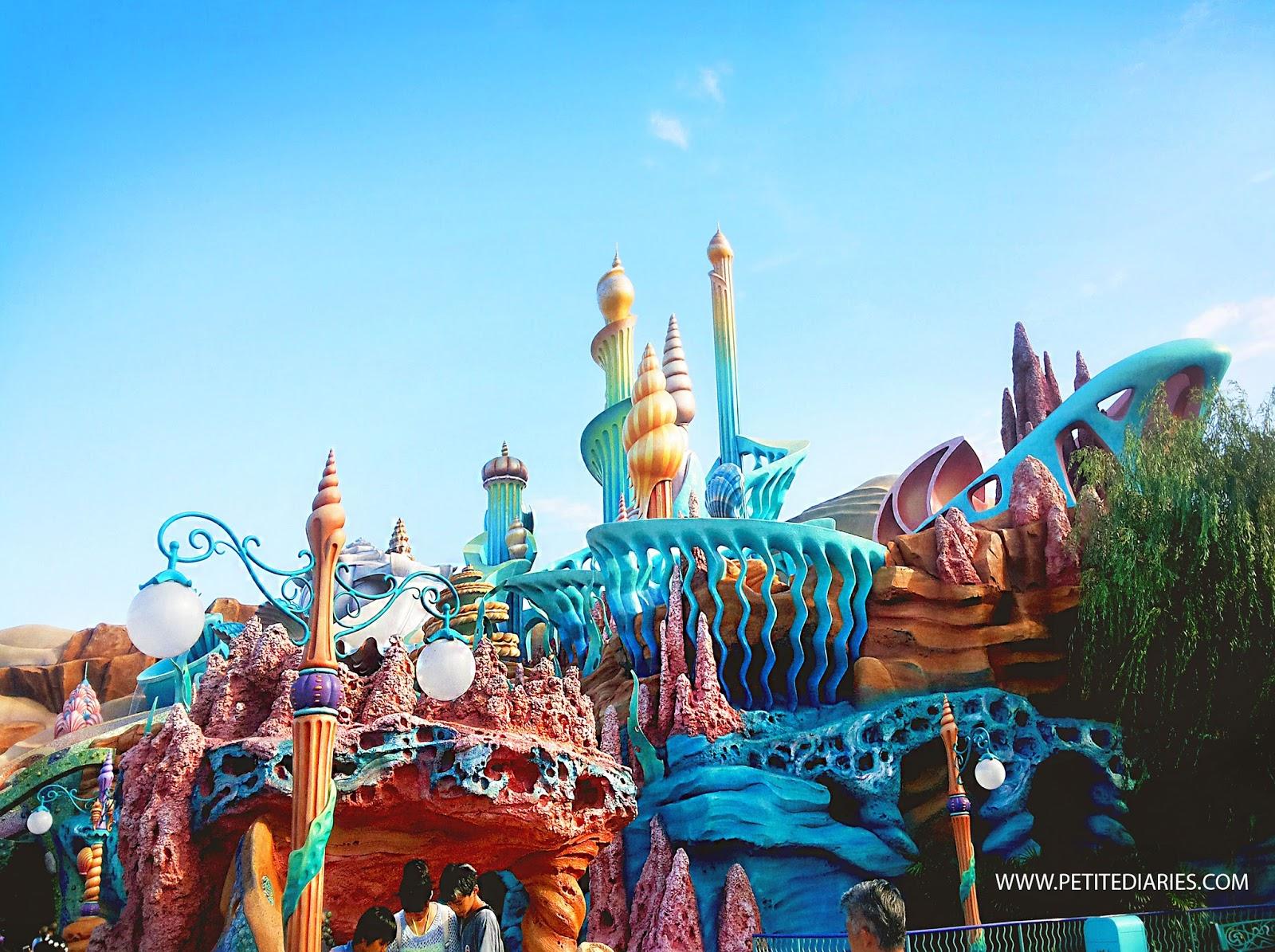 disneysea tokyo mermaid entrance