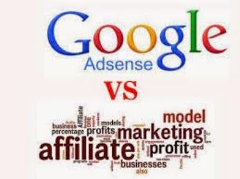 Google Adsense Versus Affiliate Progam