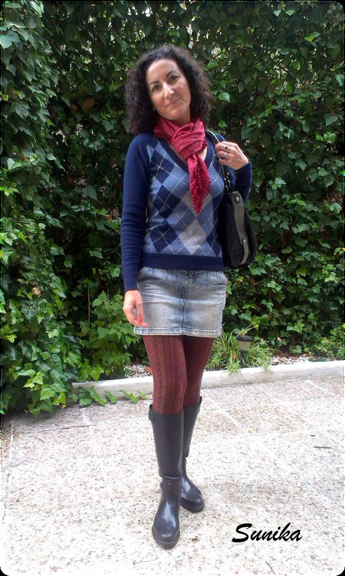 Reflejos de Mujer Outfit para un du00eda lluvioso