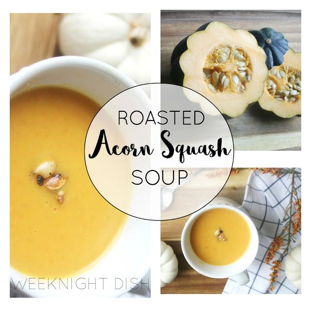 Acorn Squash Soup Collage