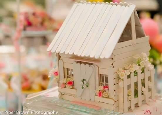 Rumah Cantik dari Stik Es Krim