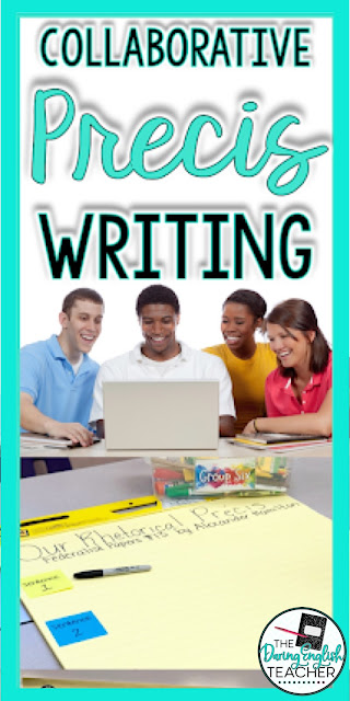 Writing a Class Collaborative Précis:Strategies for teaching rhetorical analysis