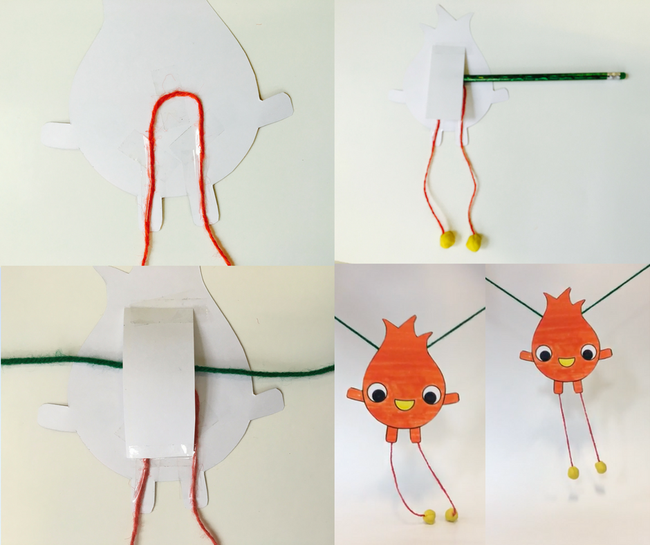 how to use a string puppet