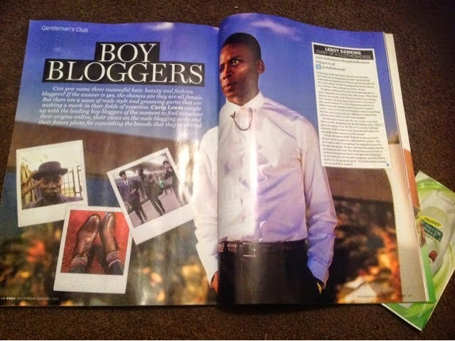 CHECK OUT MY SPREAD IN BLACK BEAUTY & HAIR DEC/JAN 2015 ISSUE