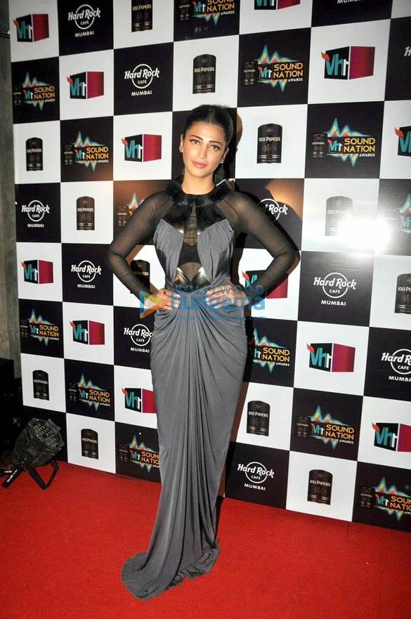 Shruti Haasan graces the VH1 Sound Nation event