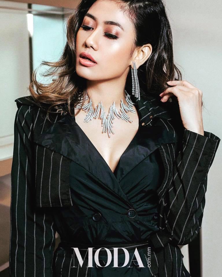 Thinzar Wint Kyaw Moda Fashion Magazine Photoshoot