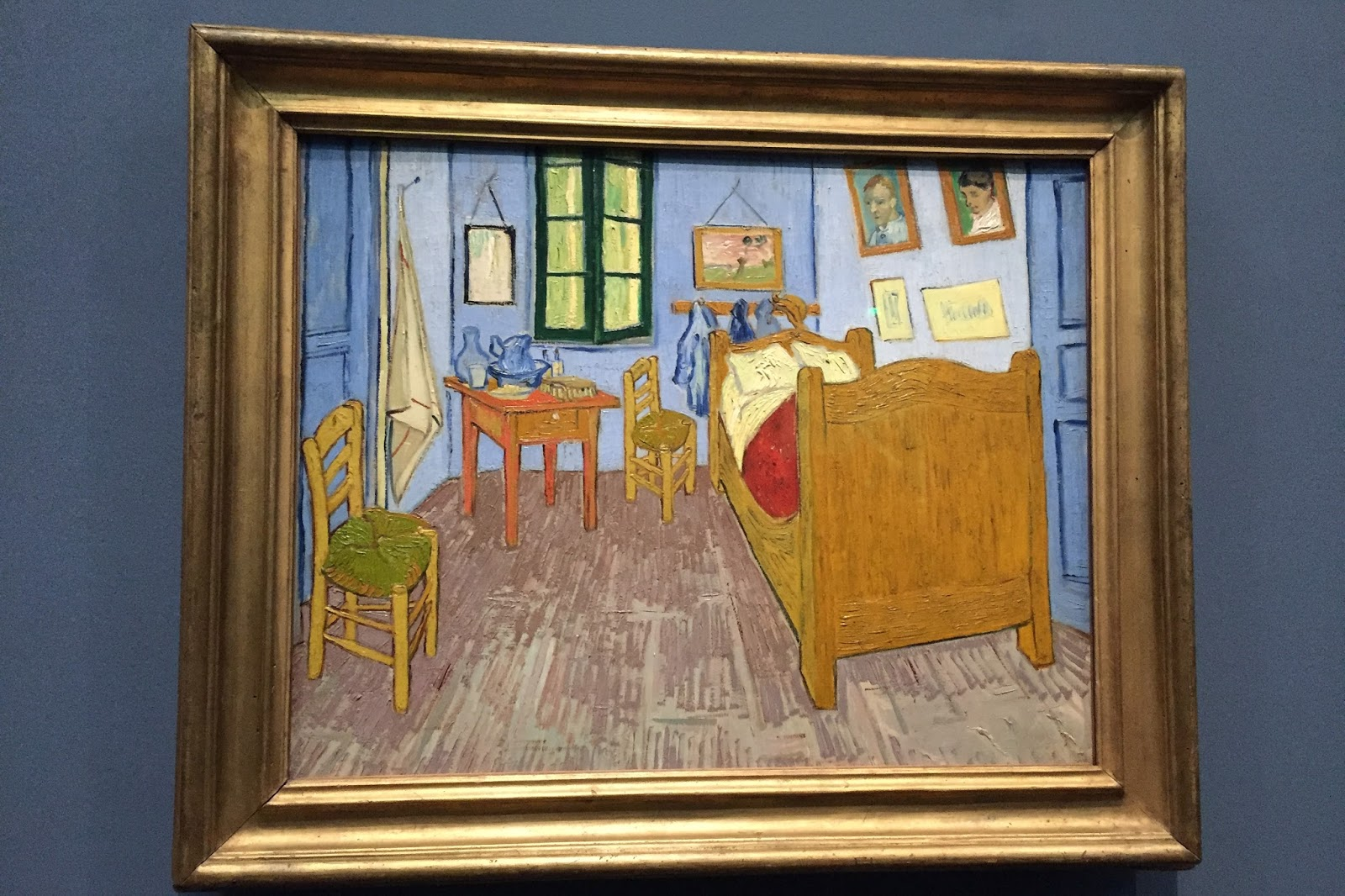 Virginia 39 s life such as it is musee d 39 orsay in paris for Chambre a arles