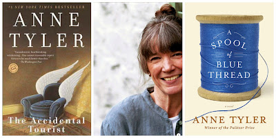 Anne Tyler author collage