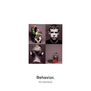 Pet Shop Boys Behavior album cover