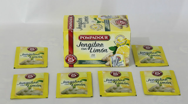 Jengibre con limón - Pompadour