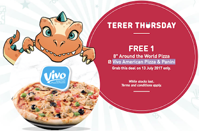 U Mobile TERER Thursday Freebie Free Around the World Pizza