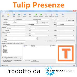 Software Presenze Tulip