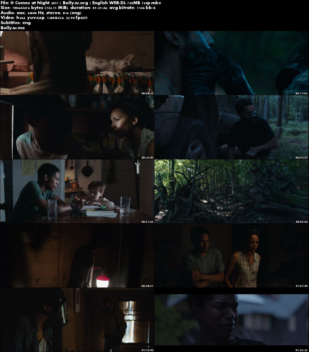 It Comes at Night 2017 WEB-DL 280MB Full English Movie Download 480p
