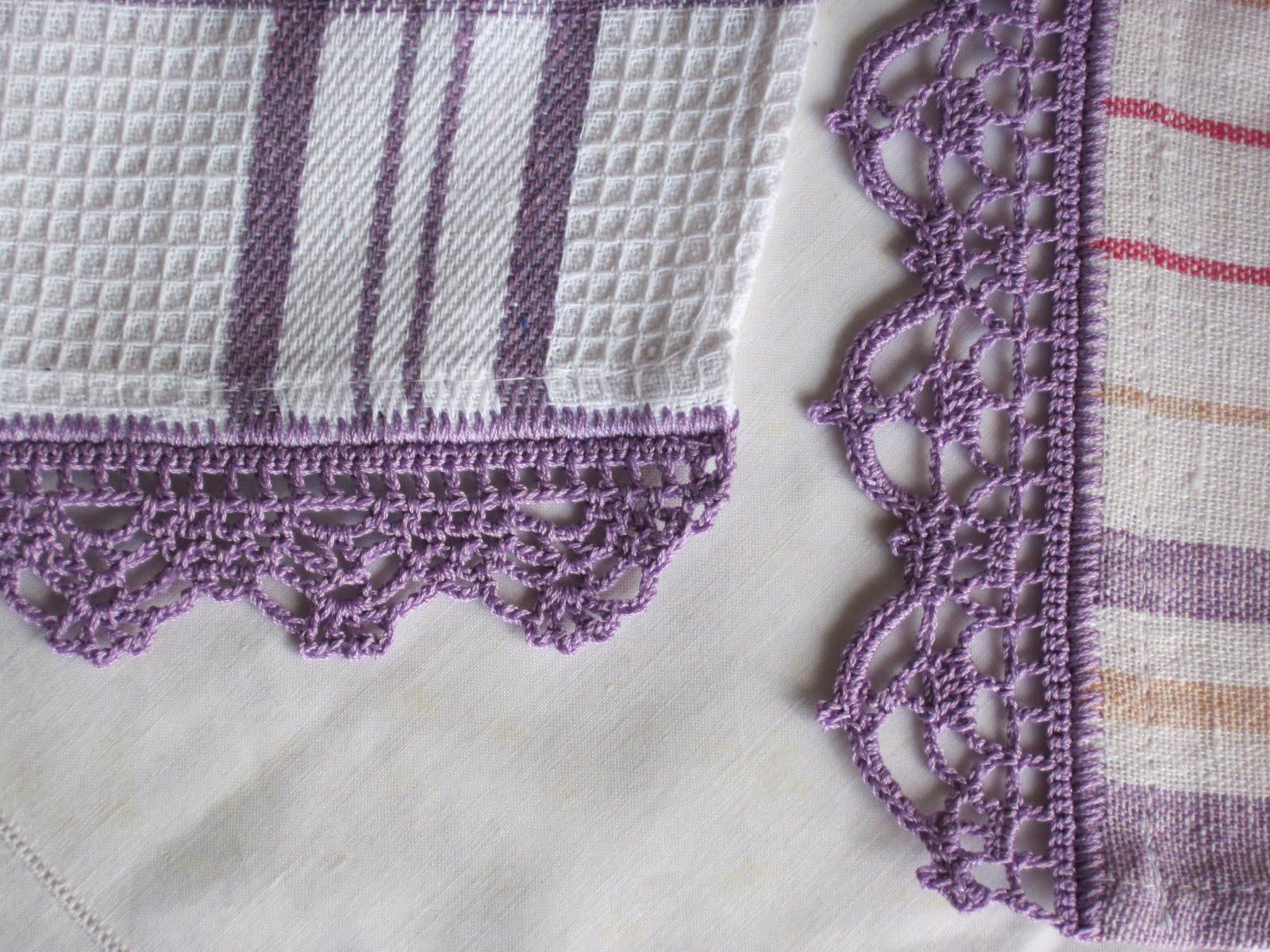 Gipa gipa strofinacci da cucina for Bordi uncinetto per asciugamani