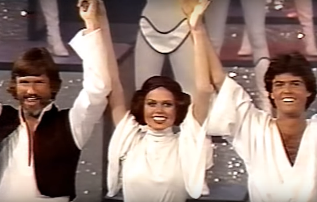 Episode Nothing: Star Wars in the 1970s: The cast of Star Wars on TV: the Donny & Marie show, 1977