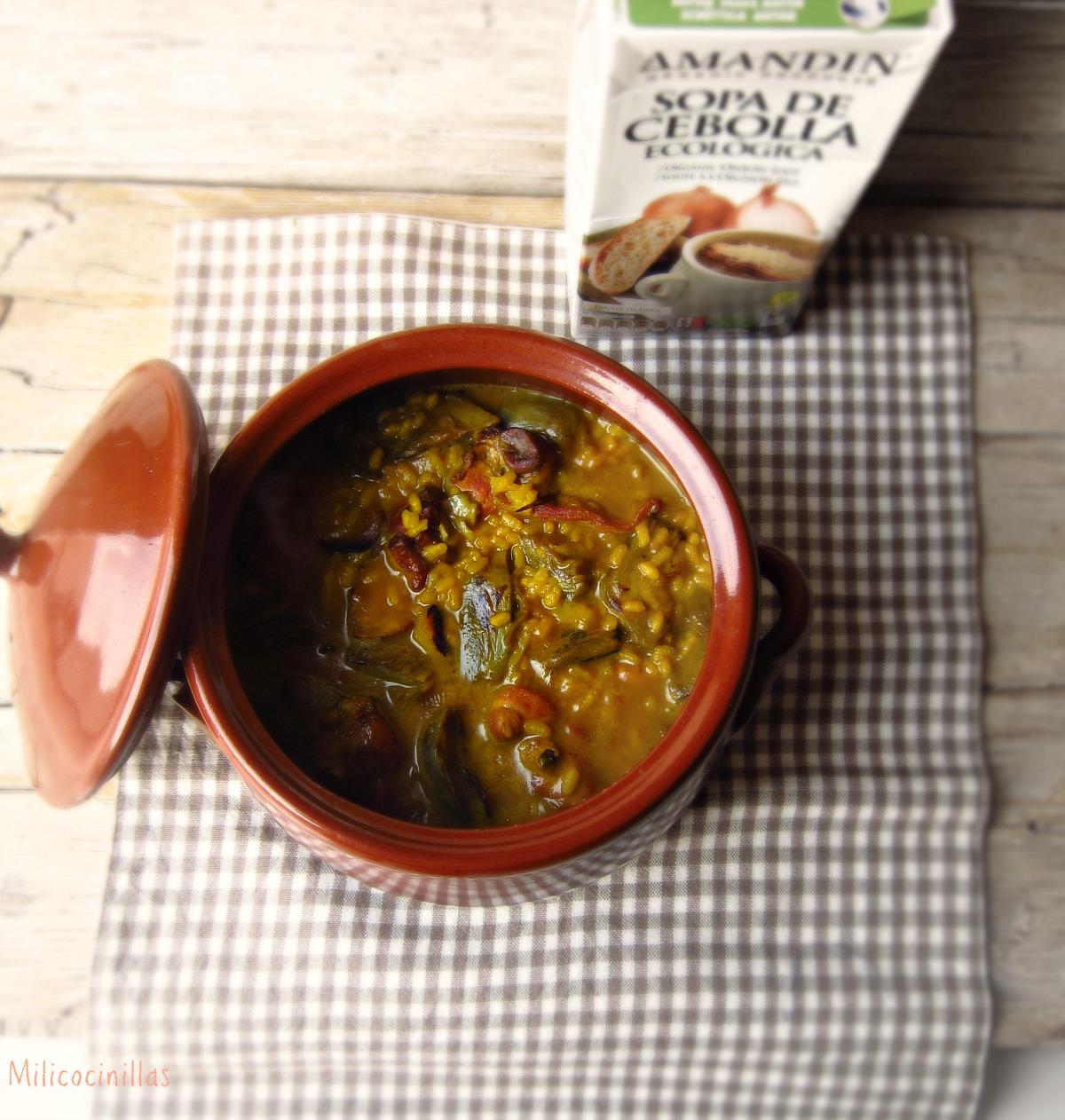 C mo cocinar arroz meloso f cil y rapido milicocinillas - Cocinar facil y rapido ...