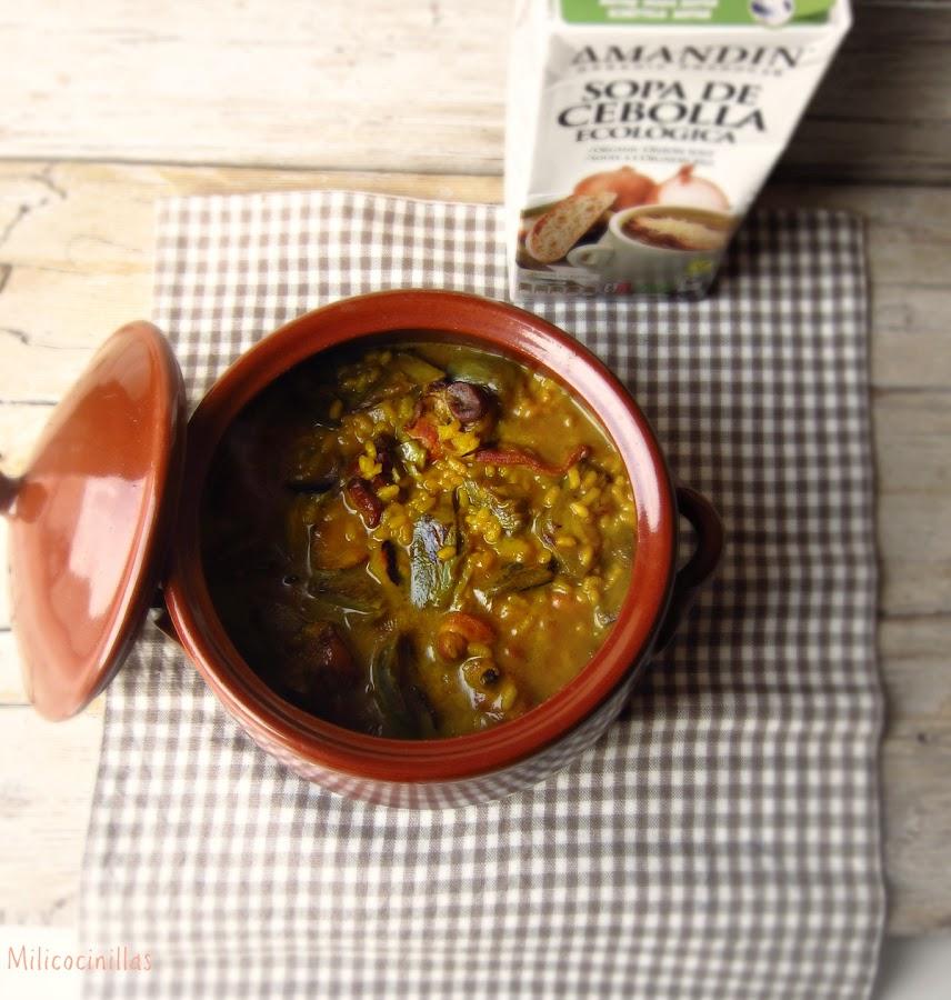 C mo cocinar arroz meloso f cil y rapido cocina for Cocinar berenjenas facil