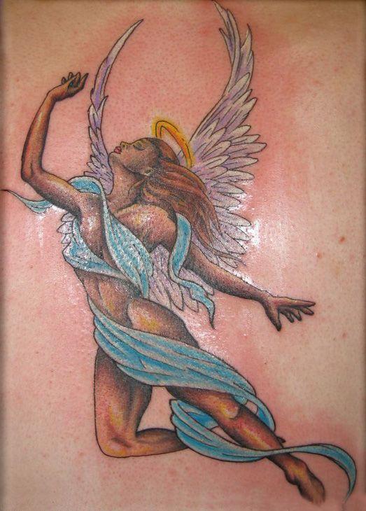 angel tattoo design gallery%253d5