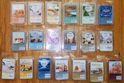 Sonoma Scented Wax Melts from Kohl's - Fall 2017
