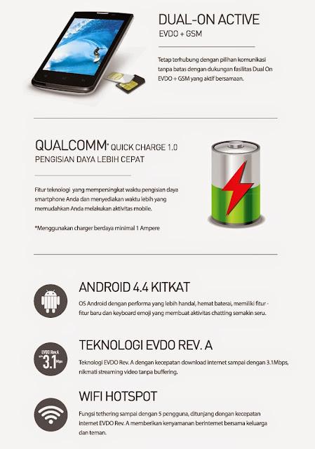 Harga Smartfren Andromax C3 Terbaru