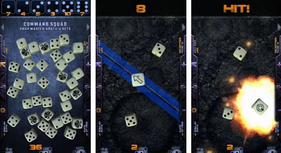 Warhammer 40,000 Assault Dice Now on Andriod!