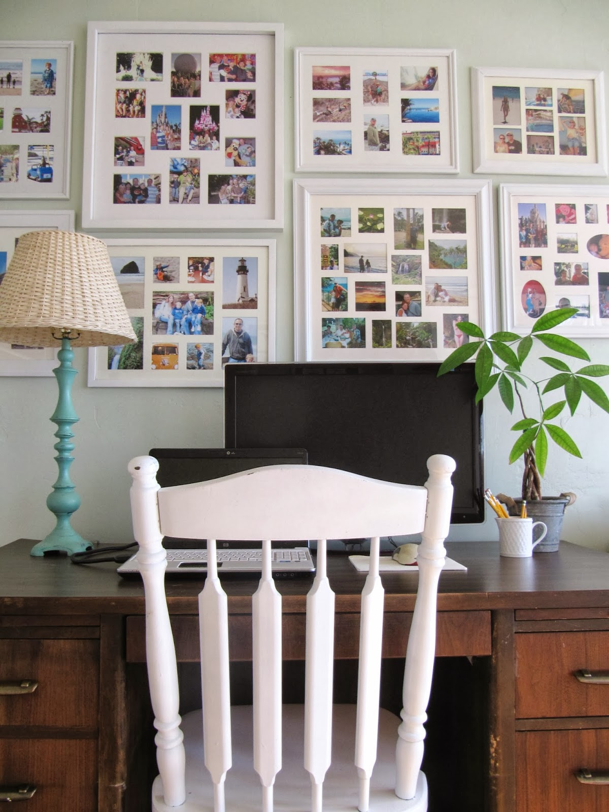 A Few Changes In Our Home Office Sunroom The Wicker House