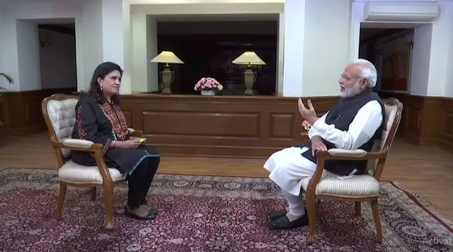 Modi's exclusive interview to the ANI