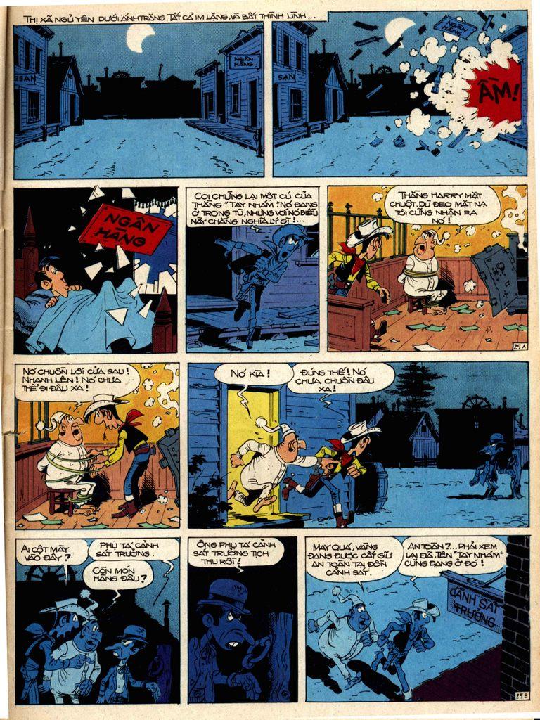 Lucky Luke tap 1 - ban tay nham trang 24