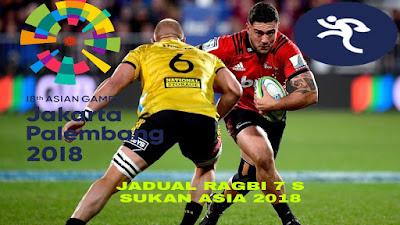 Jadual Ragbi 7 Sebelah Sukan Asia 2018