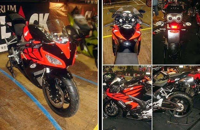 Modifikasi Honda Tiger Fairing 2014