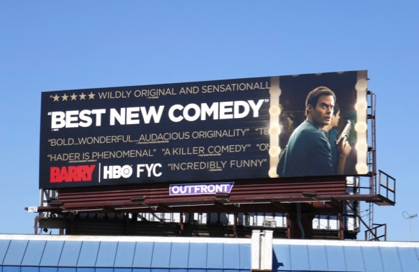 Barry 2018 Emmy consideration billboard