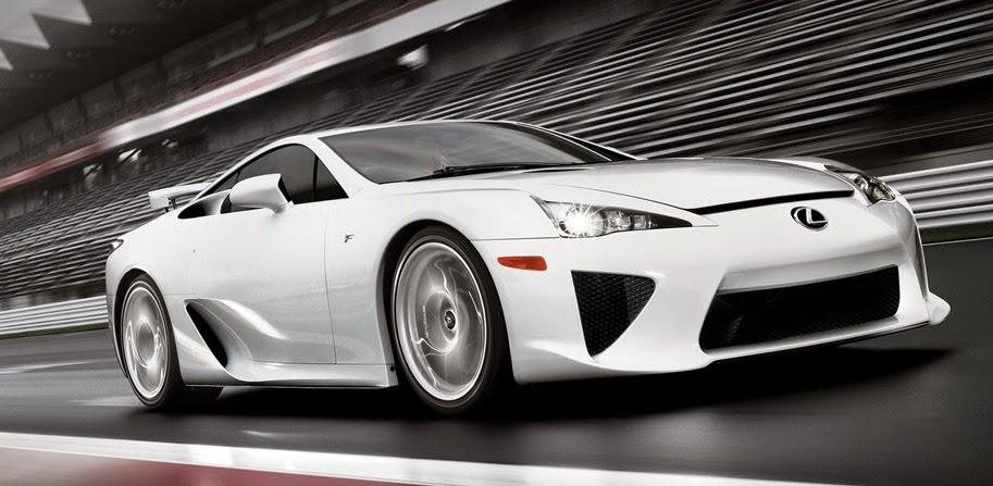 日本で一番高い国産車はレクサスLFA