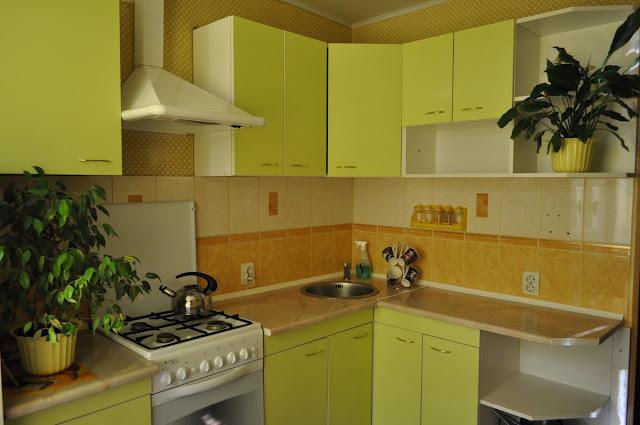 tủ bếp chung cư - mẫu số 1