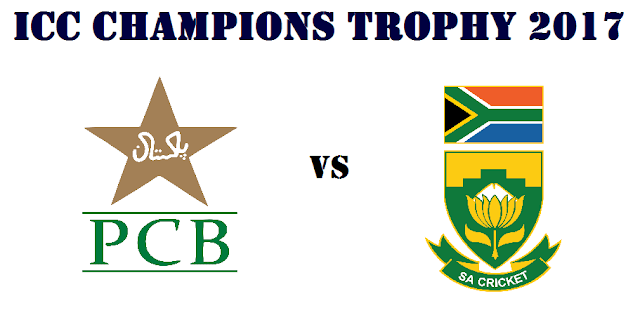 Pakistan vs South Africa ICC Champions Trophy 2017 Match 7 Preview and where to watch live